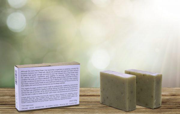 Biologische en Natuurlijke Shampoo Bar voor Vrouwen, Herby Power & Basilicum | Natural Answer