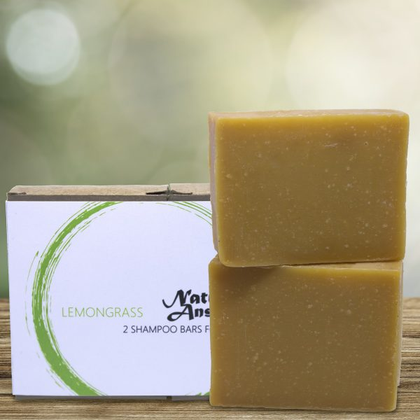 Natural Answer - Natuurlijke shampoo bar voor mannen - Citroengras