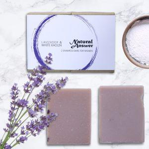 Natural Answer - Shampoo Bar voor Vrouwen - Lavendel & Witte Kaolin Klei